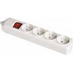 Base múltiple con interruptor