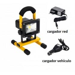 Proyector  recargable  ARLUS bateria extraible