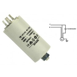 Condensador para arranque de motor