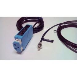 Fotocélula  de fibra óptica autoreflexiva Lendher